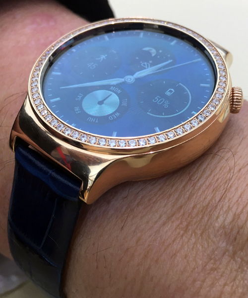 Huawei Watch Jewel(TM), Lady Modell, Seitenansicht