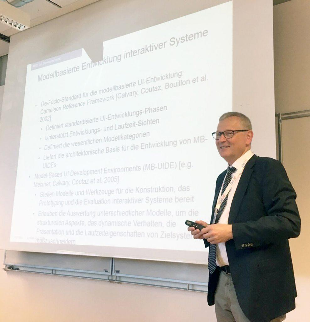 Referat Prof. Dr. Märtin, Hochschule Augsburg - Bildrechte: Klemens Waldhör