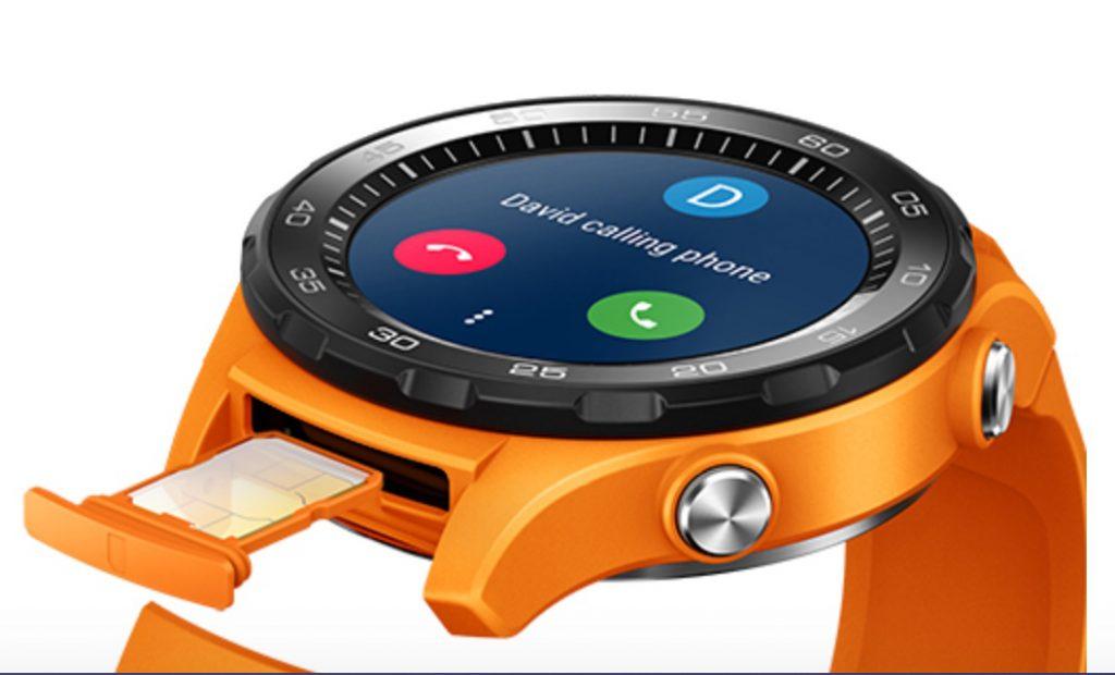 Huawei Watch 2 mit Nano SIM Kartenslot