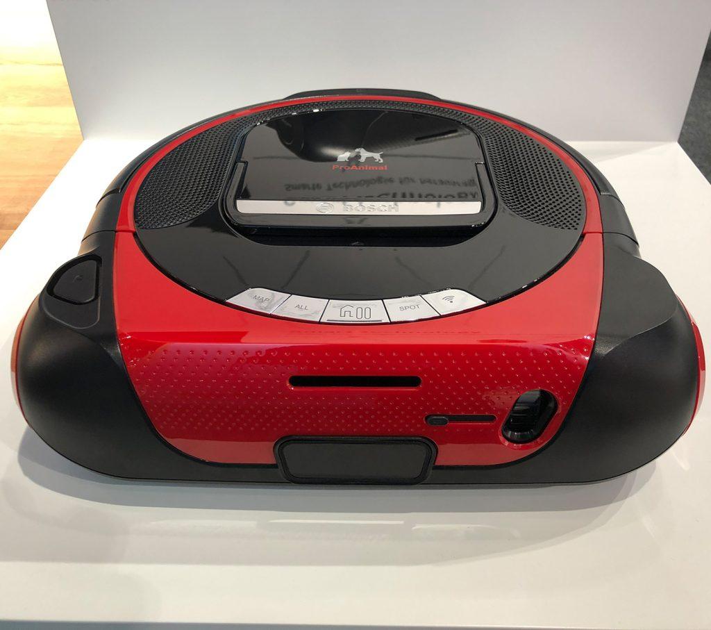 Bosch Roxxter(TM) Saugroboter - Spezialversion mit Kamera, für Haustierbesitzer