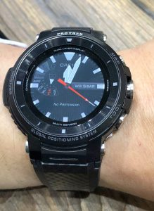 Casio Pro Trek (TM) WSD-F30 Smartwatch