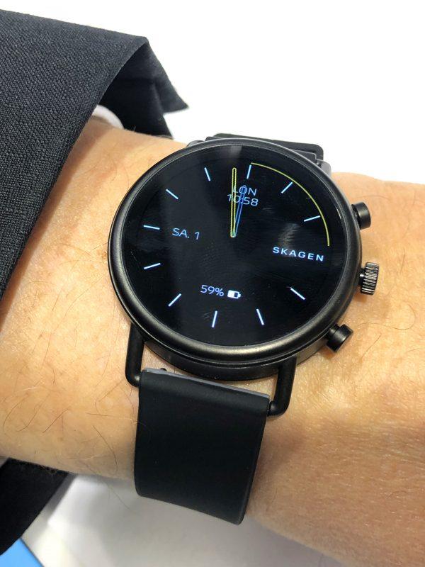 Frontalansicht der Fossil Skagen Falster(TM) 2 Smartwatch