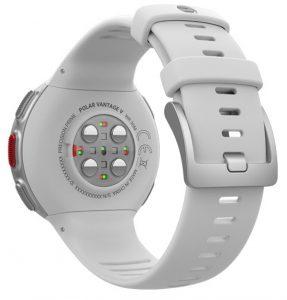 Herzfrequenzsensor Polar Vantage (TM) V mit zwei unterschiedlichen Meßfarben und Hautkontaktsensor