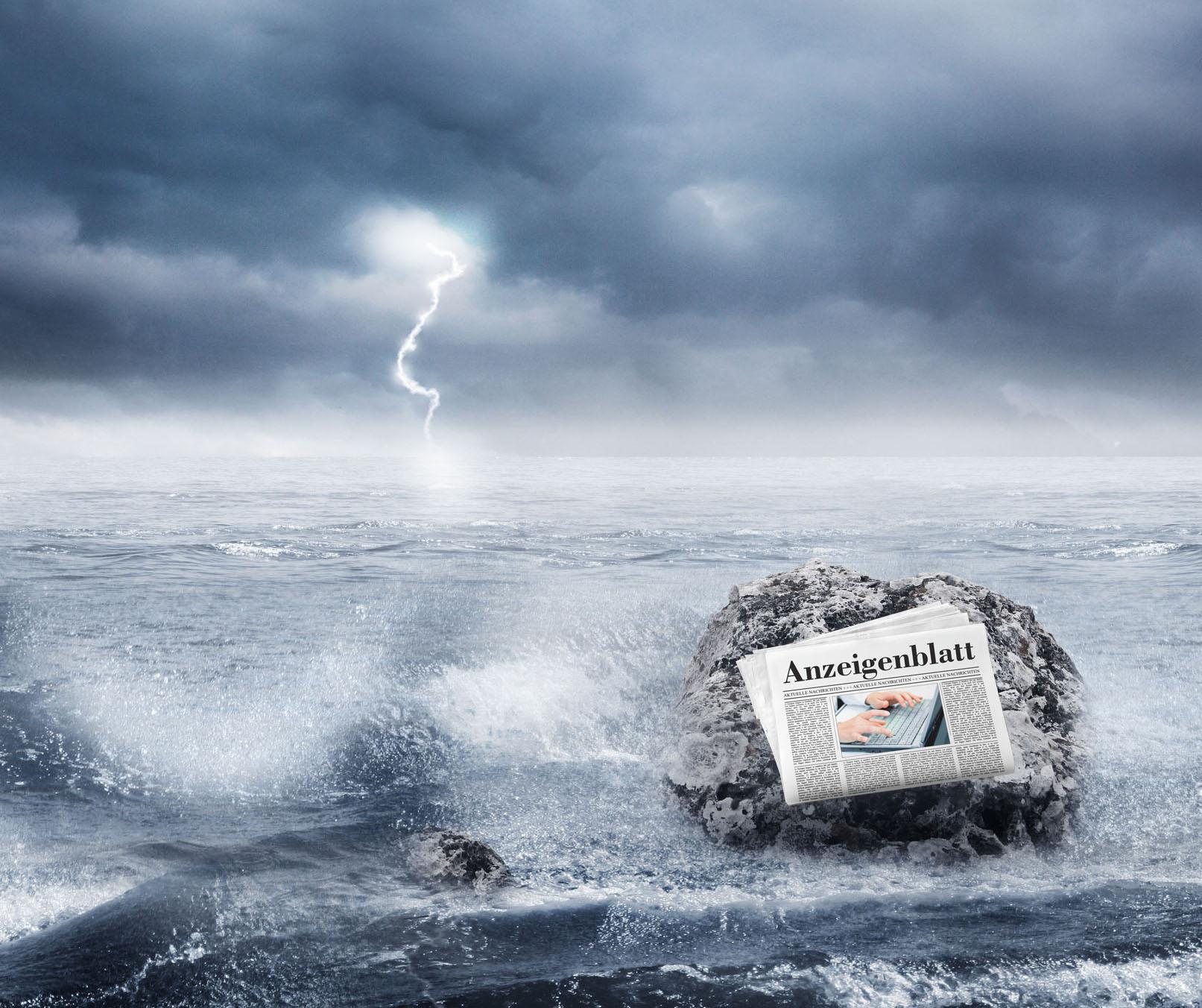 Die mobile Zukunft des Anzeigenblattes sichert das Bestehen in der Brandung des Medienwandels