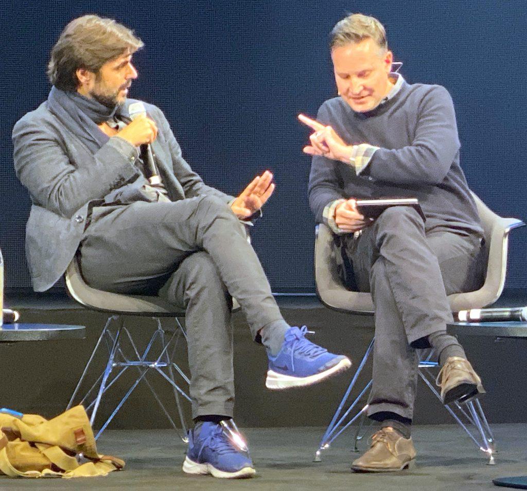 Juan Moreno im Gespräch mit Richard Gutjahr, Medientage München 2019