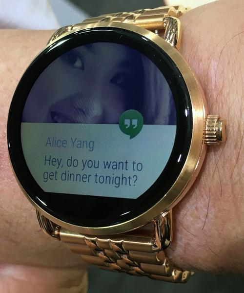 Fossil Q-Wander(TM) Smartwatch