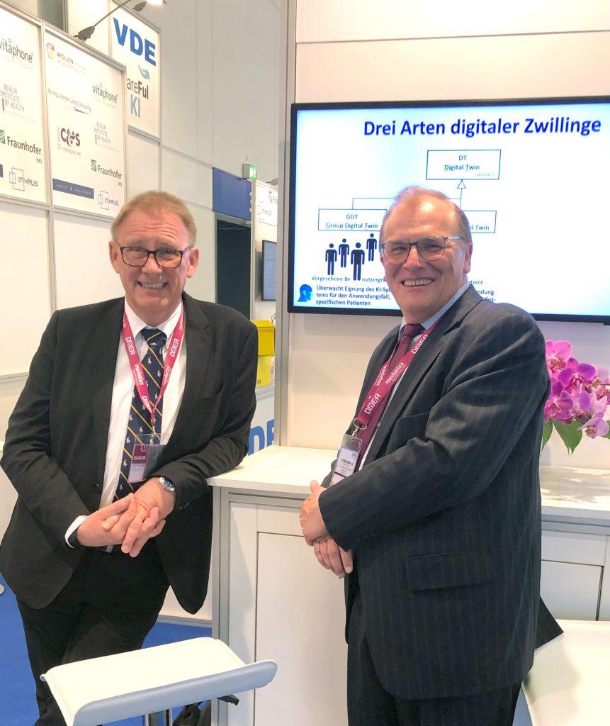 Dr.-Ing. Rainer Lutze mit Gespräch mit Prof. Dr. Uwe Tronnier, Hochschule Kaiserslautern