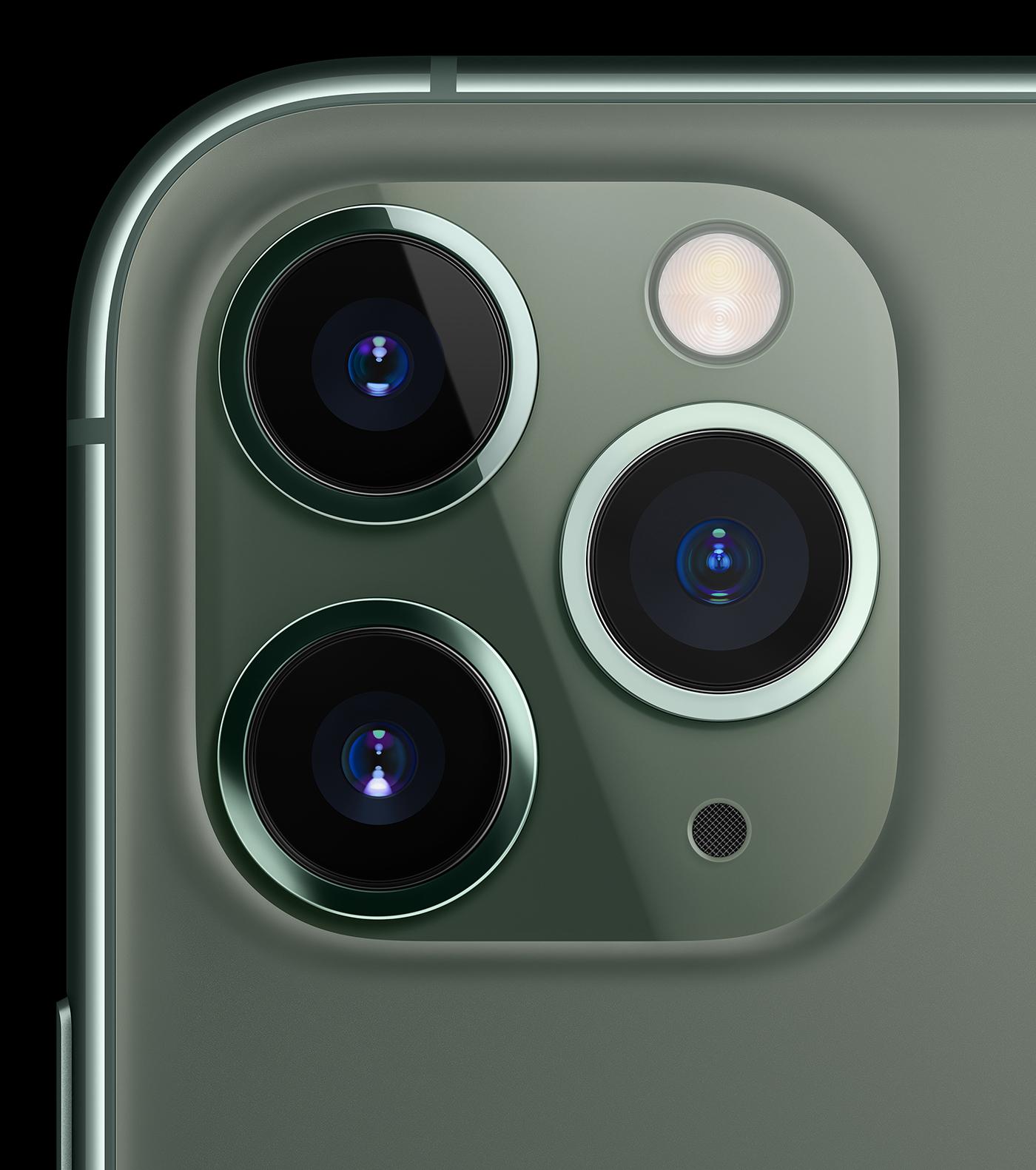 Normal-, Weitwinkel und Teleobjektiv bei beim neuen iPhone 11 PRO