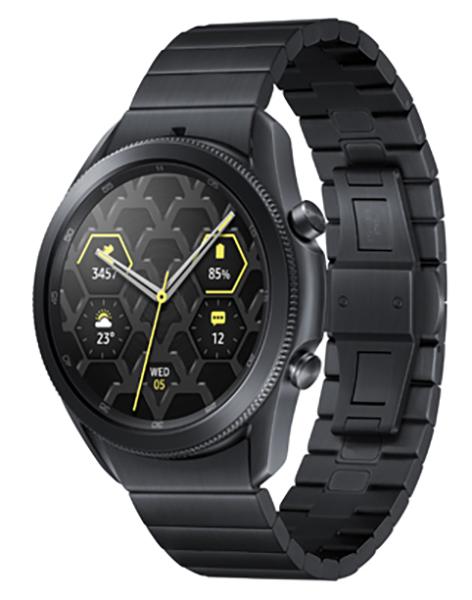 Frontseite der Samsung Galaxy Watch3 (TM)