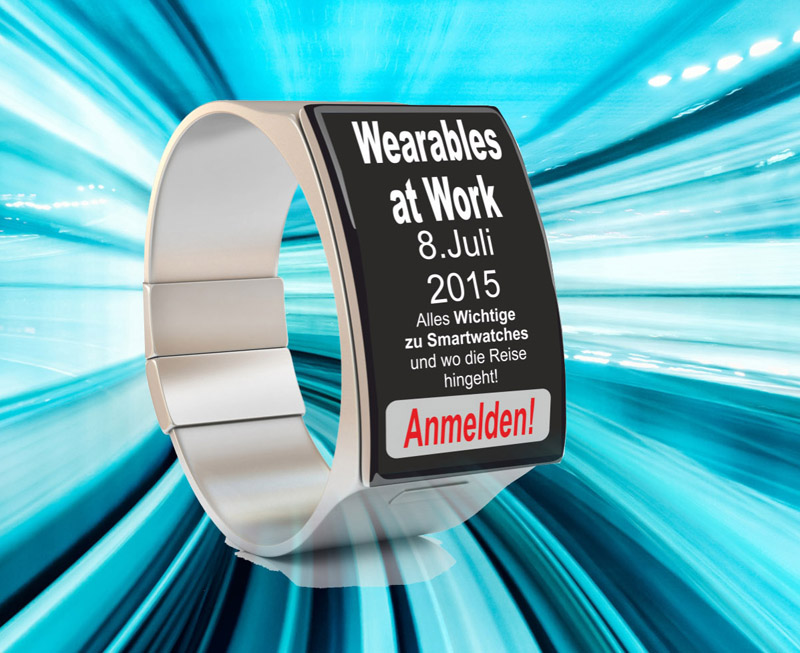 Seminar 'Wearables-at-work' am 8.Juli 2015 im Dorint Hotel Main-Taunus-Zentrum