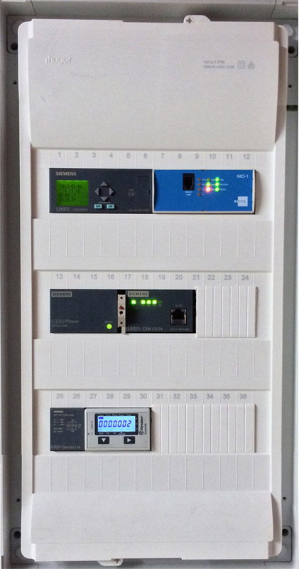 System center of home automation system